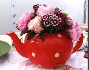 Flowery tea