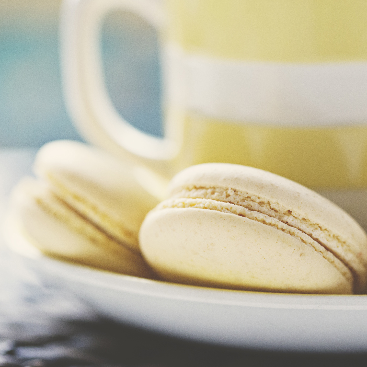 Tea with Macarons